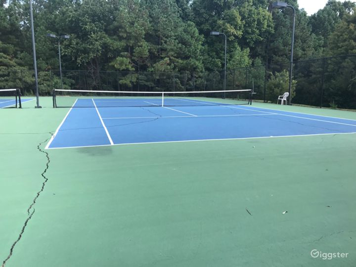 A Beautiful Tennis Court in Raleigh Photo 2