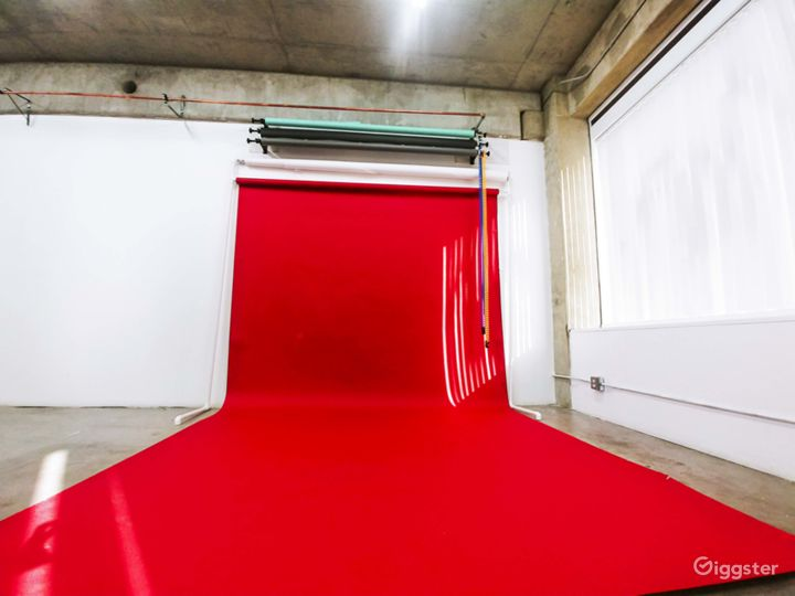 Red Background- Backdrop 86x36. Perfect for Birthday, Party Scene
