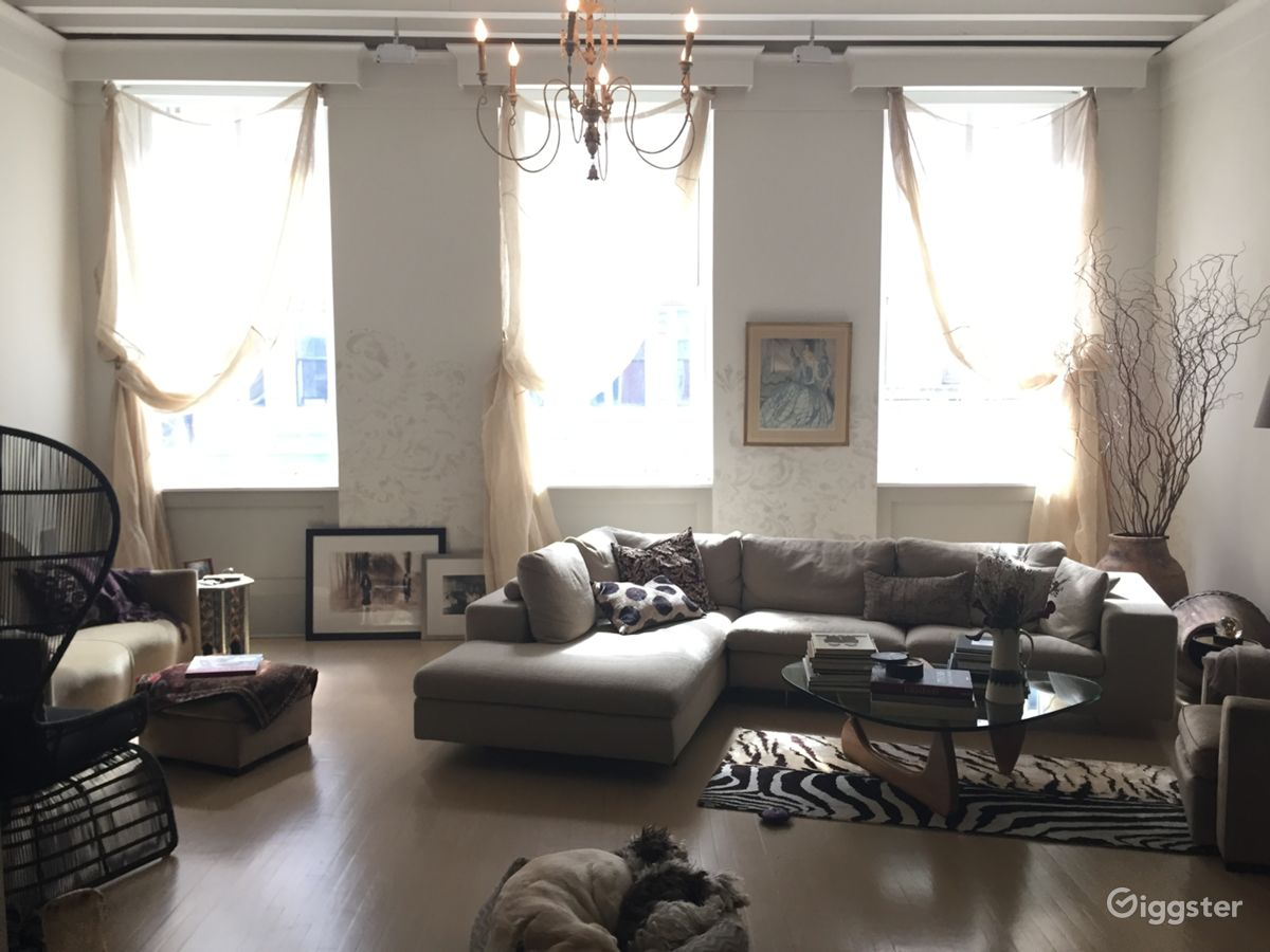 rent nyc eclectic contemporary photo friendly loft apartment loft