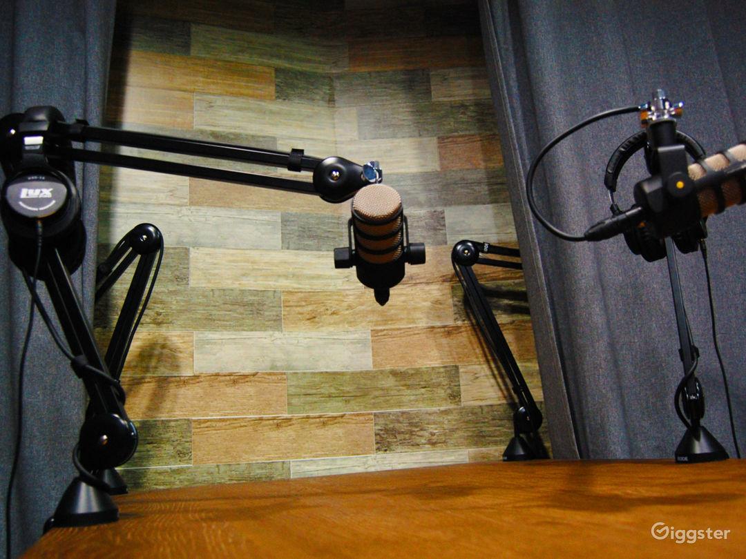 Professional Podcast Studio Photo 1