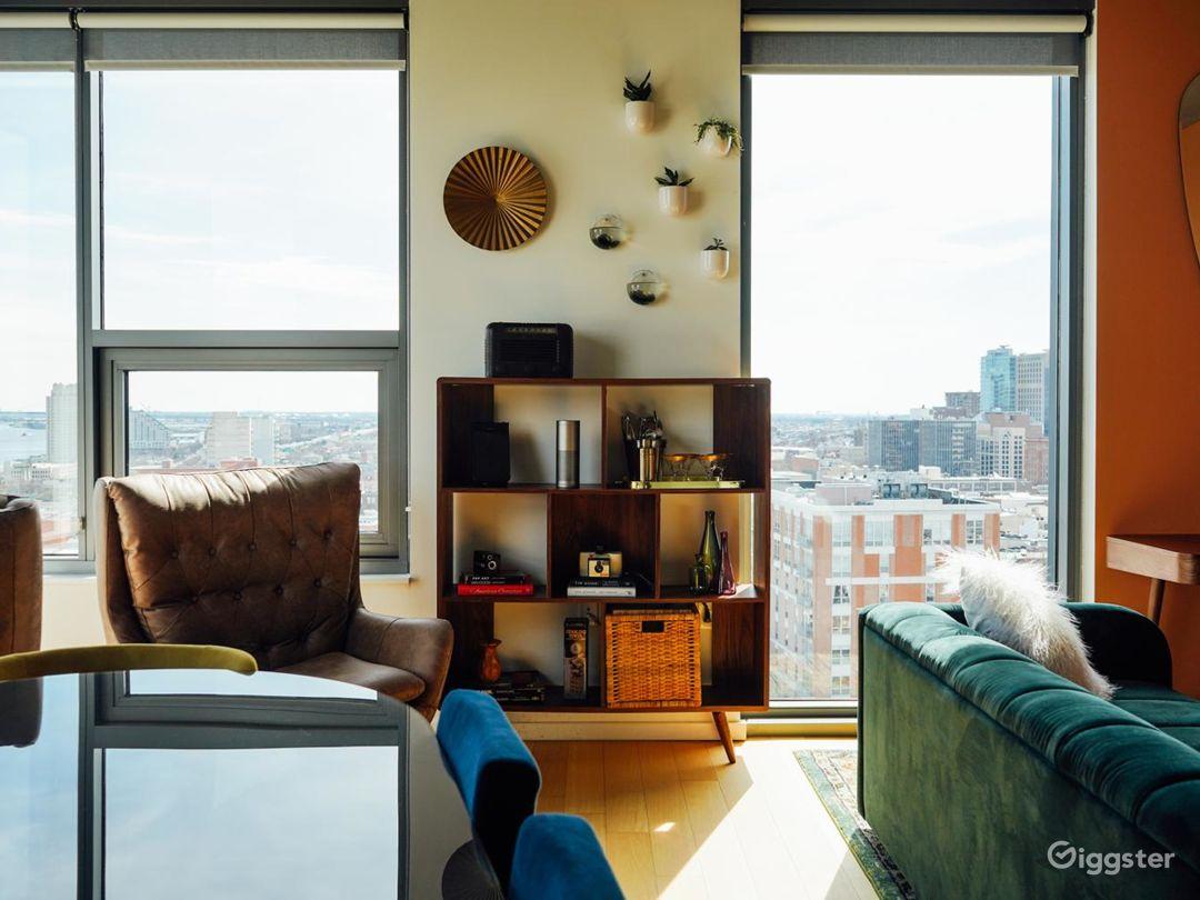 Charming Modern 2BR Penthouse Photo 2