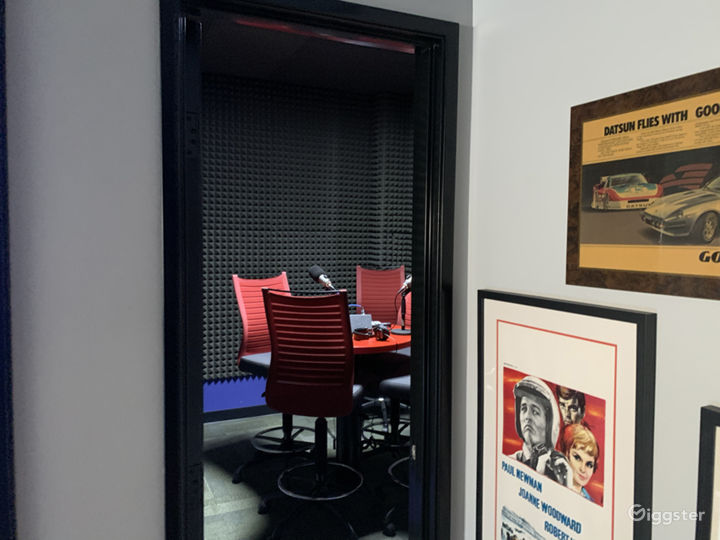 Entrance to Sound Booth
