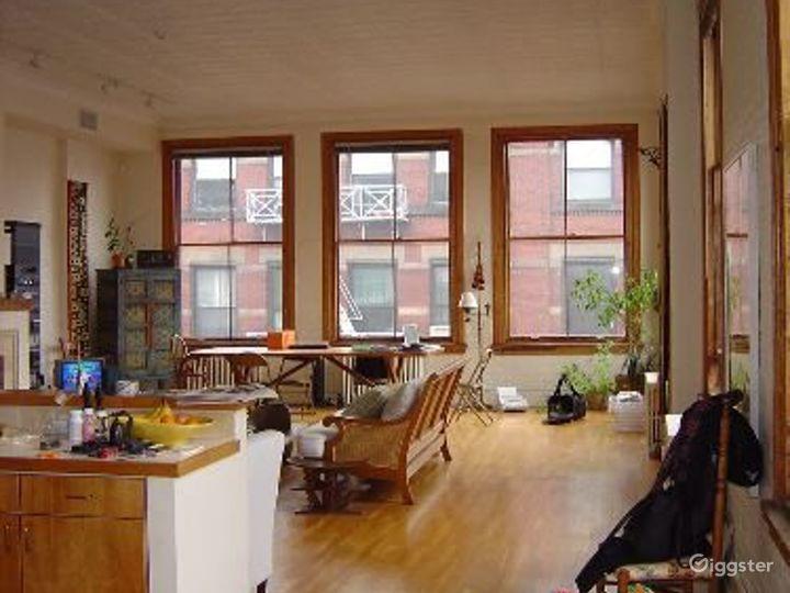 Soho loft apartment with rooftop: Location 4004 Photo 2