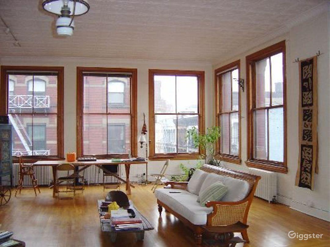 Soho loft apartment with rooftop: Location 4004 Photo 1