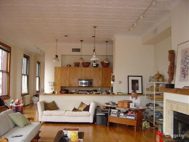 Soho loft apartment with rooftop: Location 4004 Photo 5
