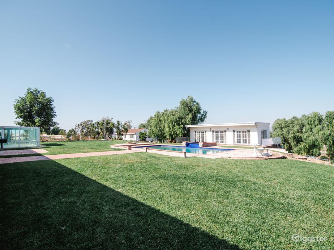 3 acre hilltop ranch home, barn, pool, tennis ++++ Photo 4