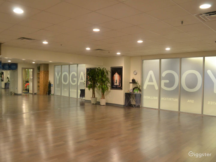 Large wellness center and yoga studio for events! Photo 5