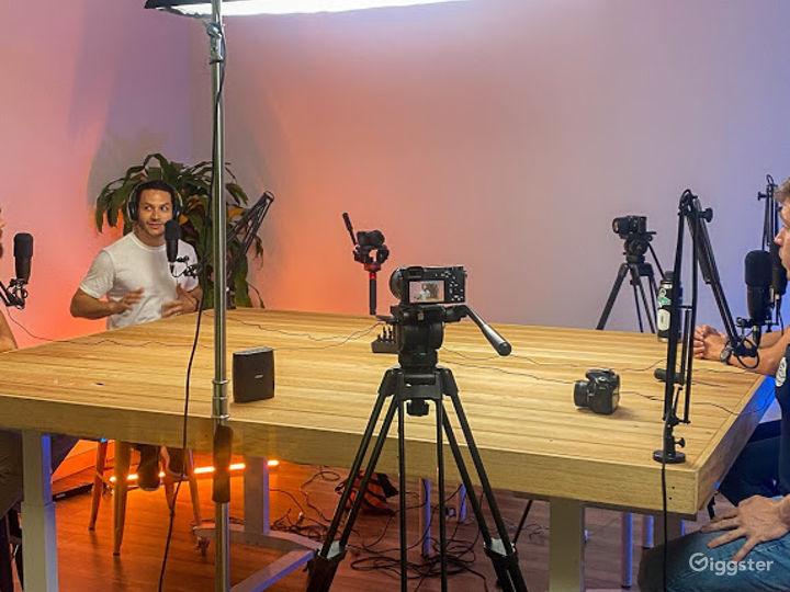 A Professional Podcast Studio Photo 4