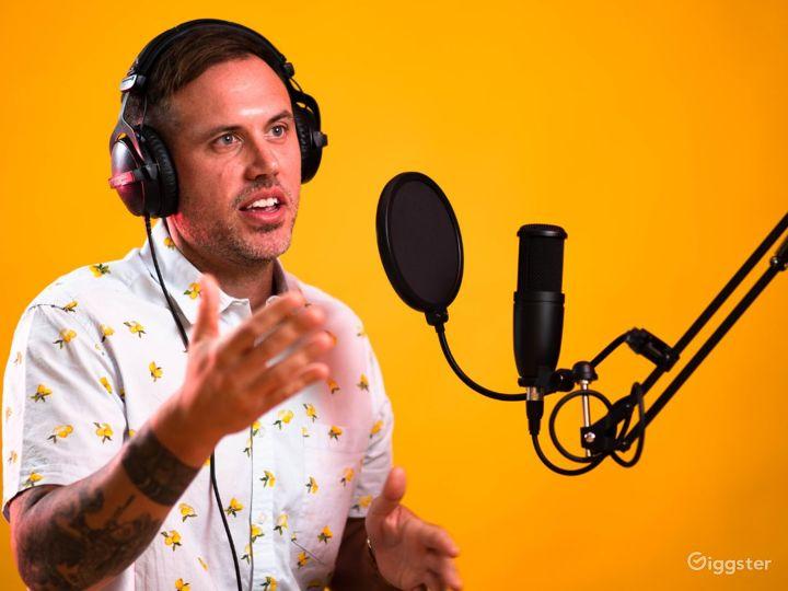 A Professional Podcast Studio Photo 5