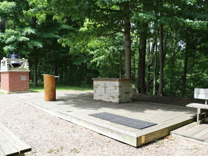Open-Air and Breezy Outdoor Chapel Photo 2