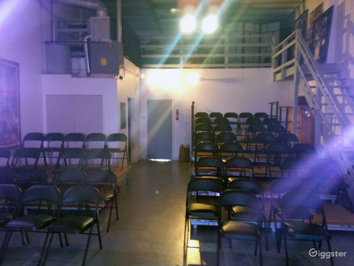 Can be set up for workshops, corporate events or many different size audiences.