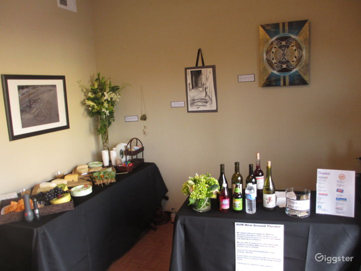 Easy to set up catering and food and beverage.