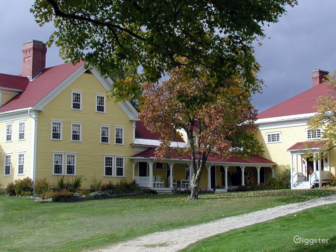Historic Country Baronial Lodge in Maine Photo 1