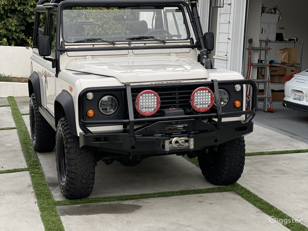 Land Rover Defender 90 Convertible SUV Classic Photo 1