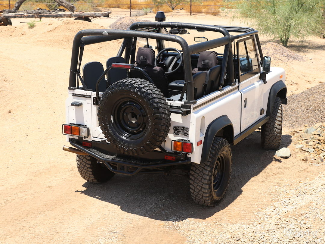 Land Rover Defender 90 Convertible SUV Classic Photo 5