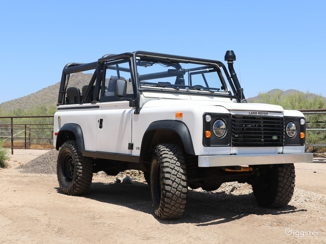 Land Rover Defender 90 Convertible SUV Classic Photo 4