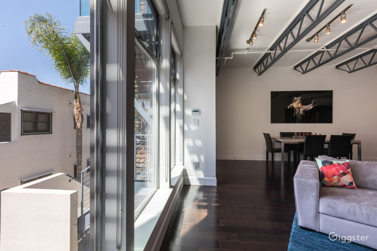 Rent Contemporary Loft With Gorgeous Grounds Apartment Penthouse
