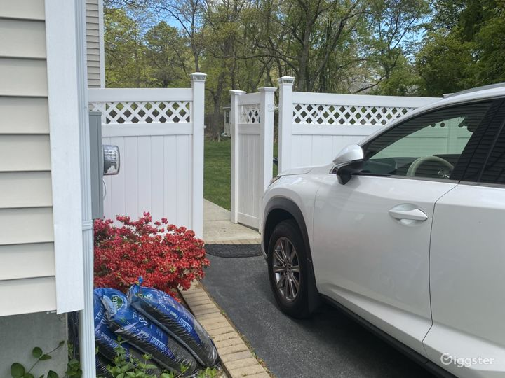 Gate to enter property