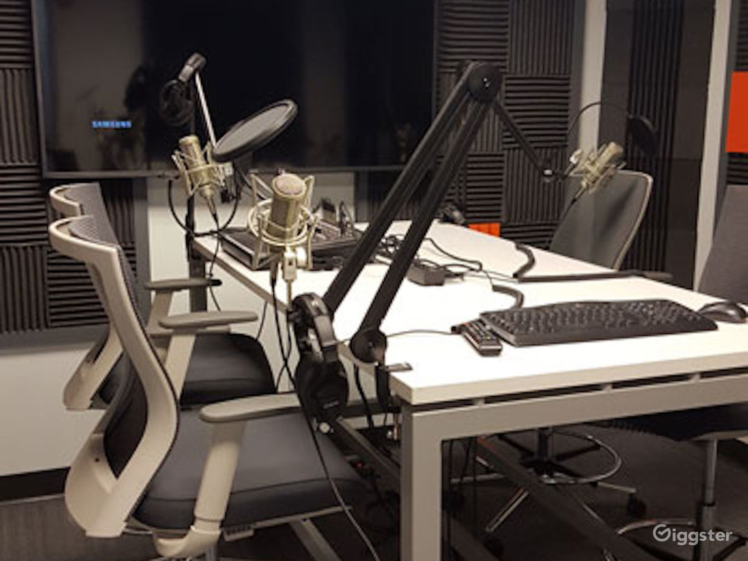 Complete Podcasting - Video Casting Room