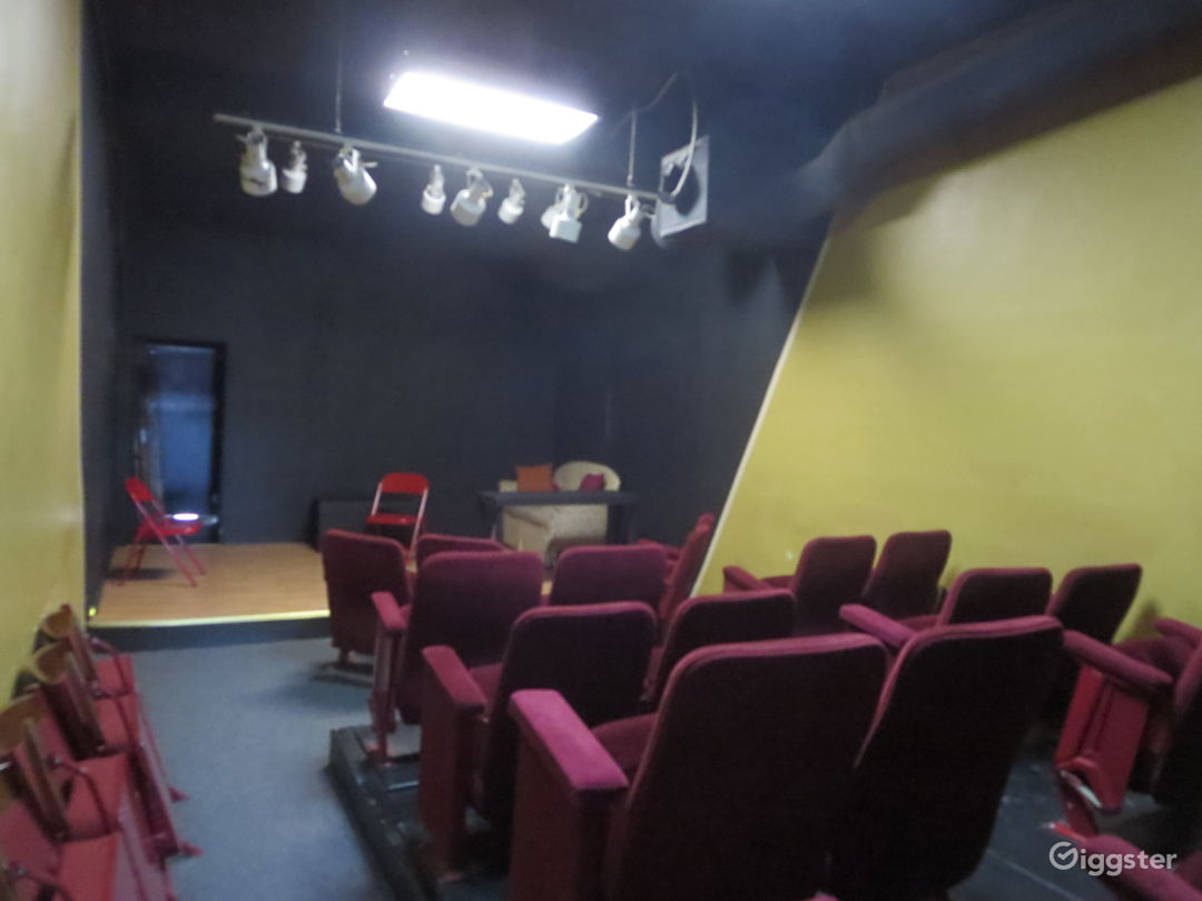 House and stage from lobby