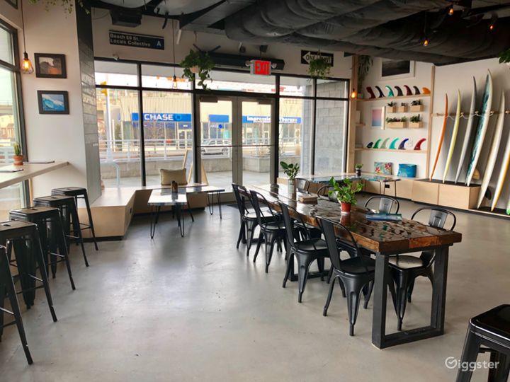 Beach Cafe & Holding Area