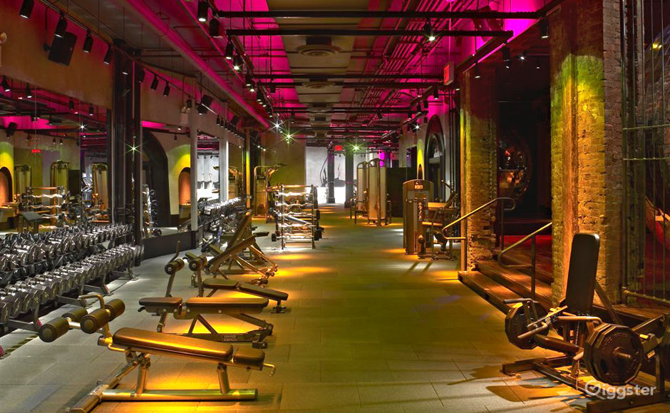 Rent trendy westside gym with nightclub vibe dance fitness gym