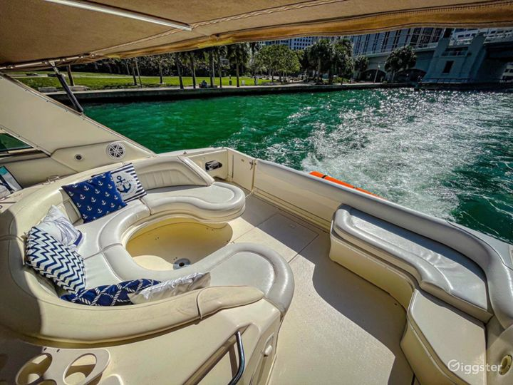Breath-Taking 50ft SEA RAY Sea Isle Party Yacht Space Events Photo 2