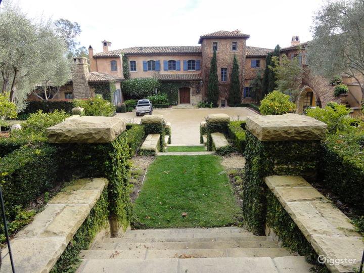 Montecito Italian Villa