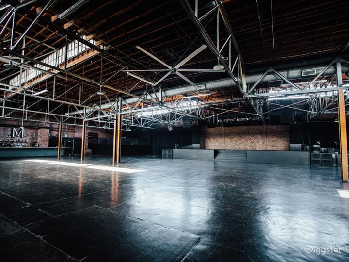 Industrial Warehouse Event Venue