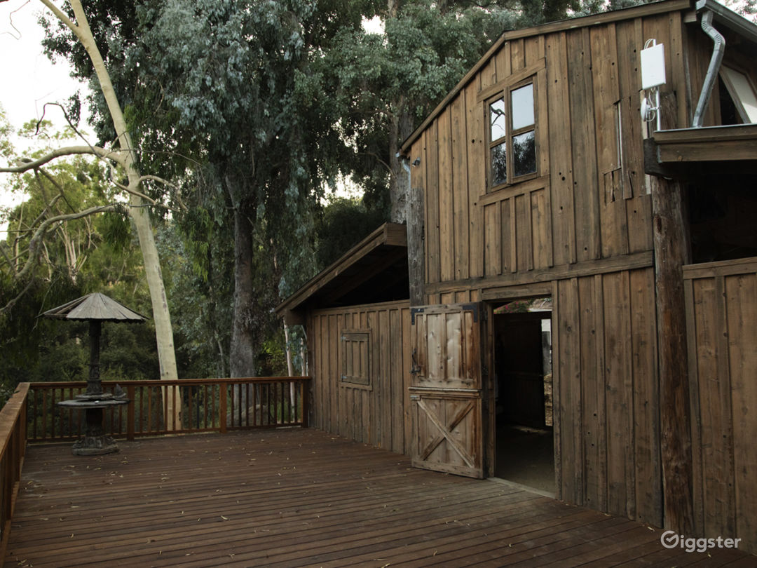 The Barn in Topanga with Outdoor Deck Photo 1