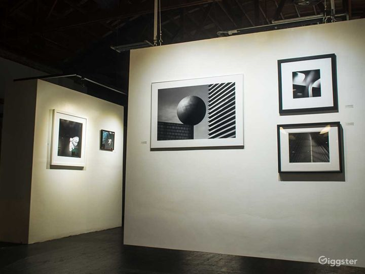 Art Gallery Available for Small Productions
