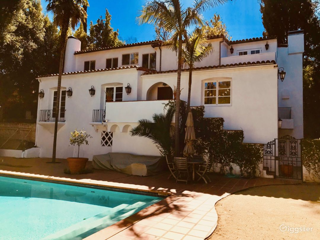 Beautiful Charming Spanish Home from 1926. Once owned by Hedy Lamar, Humphrey Bogart and Lauren Bacall.