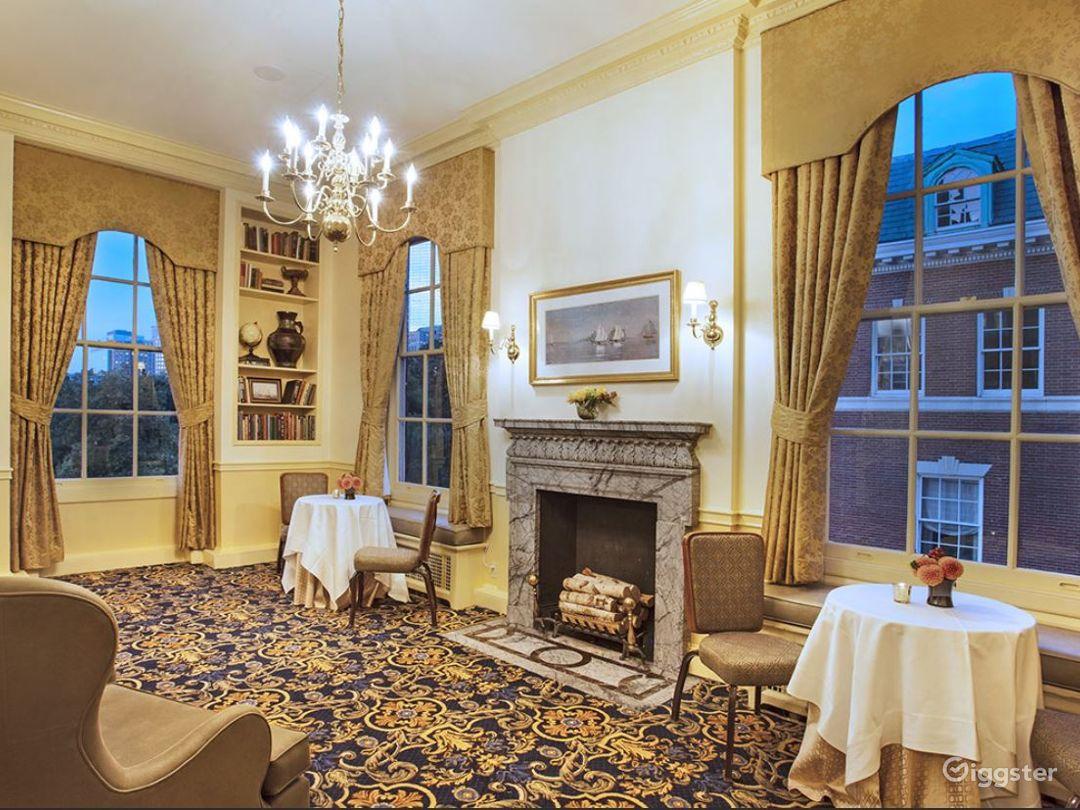 Elegant Wedding Reception Hall in Boston with Stunning  City View Photo 1