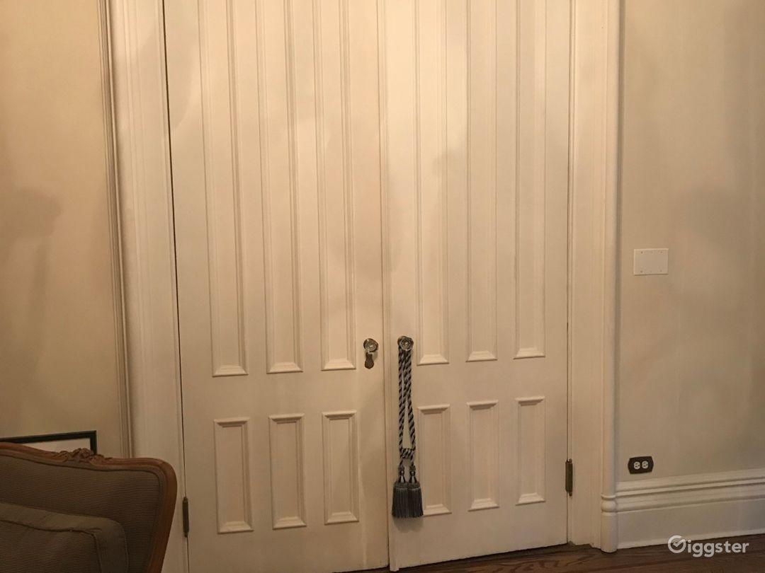 Parlor room doors
