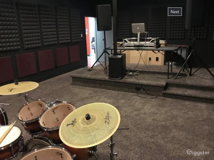 Warehouse Studio for Music Rehearsals | Video Shoot Space Photo 4