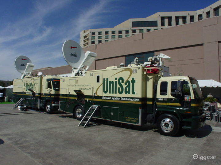 Unisat Broadcast Trucks available