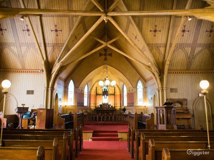 Inside Century Memorial Chapel