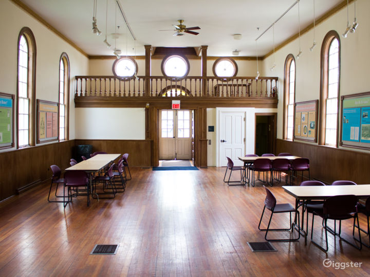 Inside the Meeting House