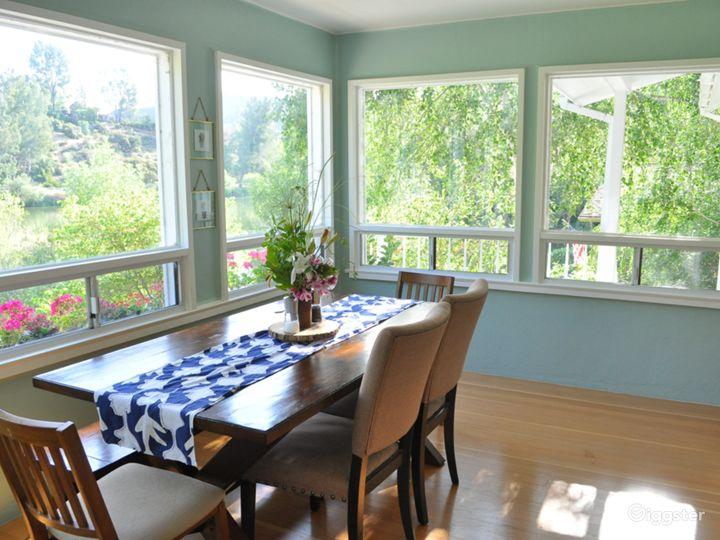Kitchen view.