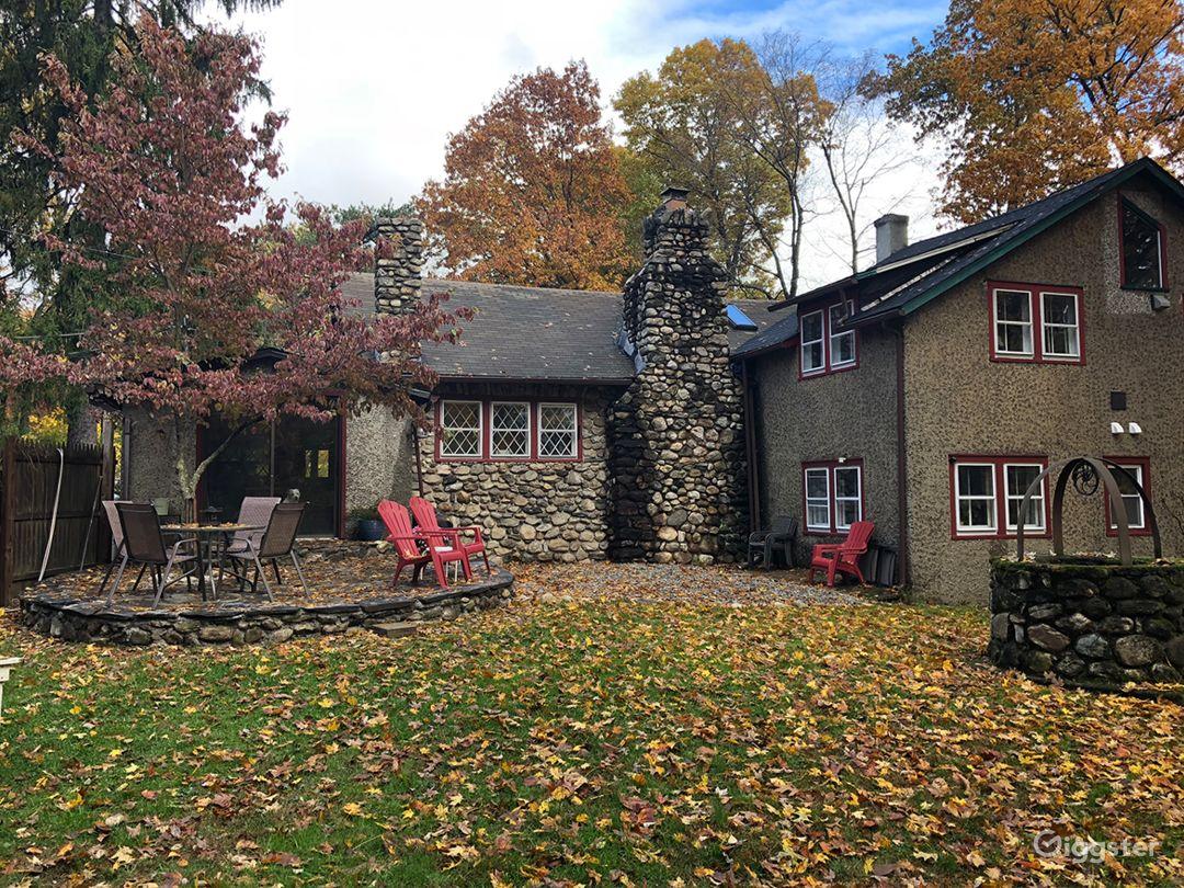 Unique Fairytale Stone House w/ Medieval Features Photo 2