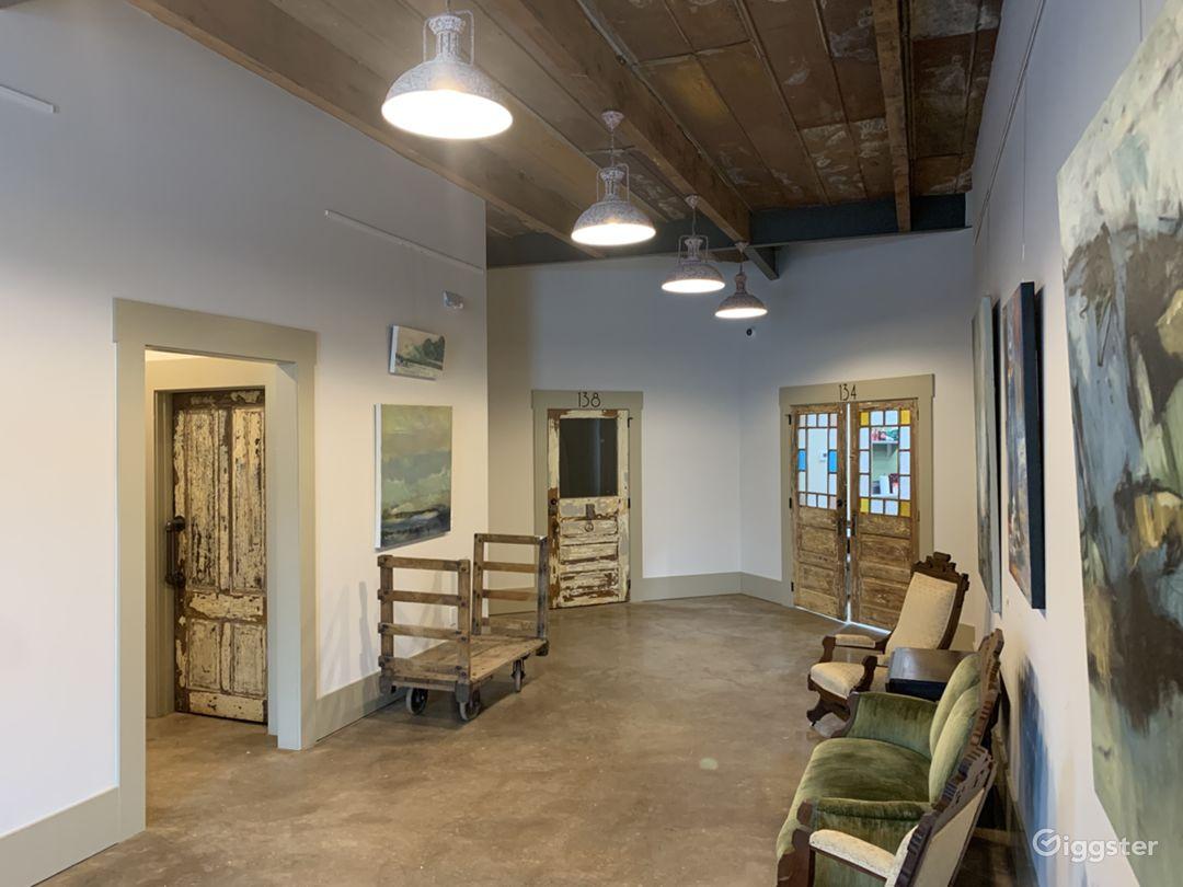 Foyer - Art Gallery