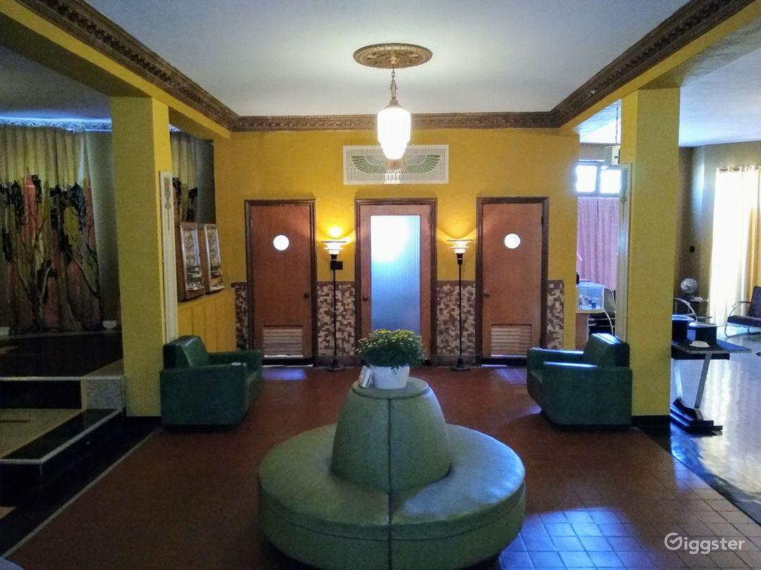 Art Deco SPEAKEASY Living Museum Authentic Photo 5