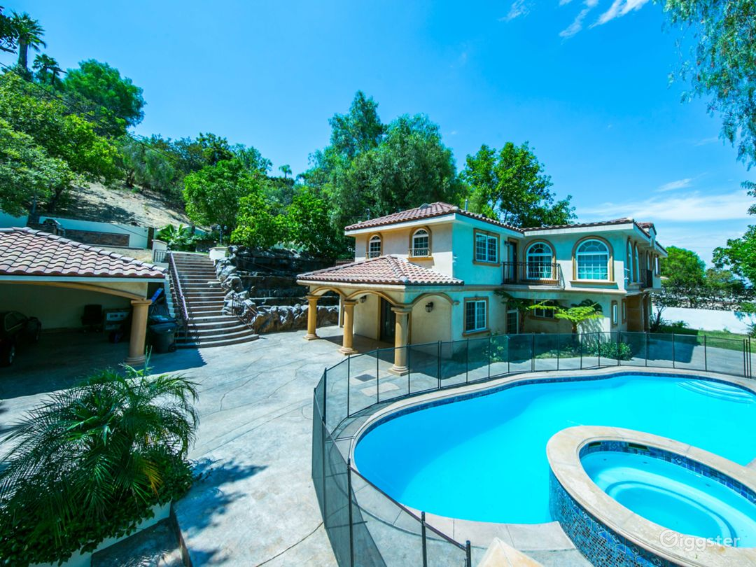 Amazing Encino Villa with Pool Los Angeles Rental