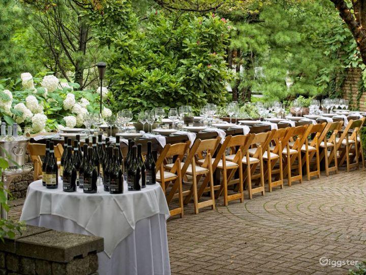 Fine dining Italian garden to table restaurant Photo 2