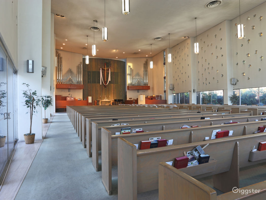 Modern Methodist Church to Rent for Filming  Photo 1