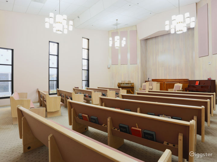 Modern Methodist Church to Rent for Filming  Photo 2