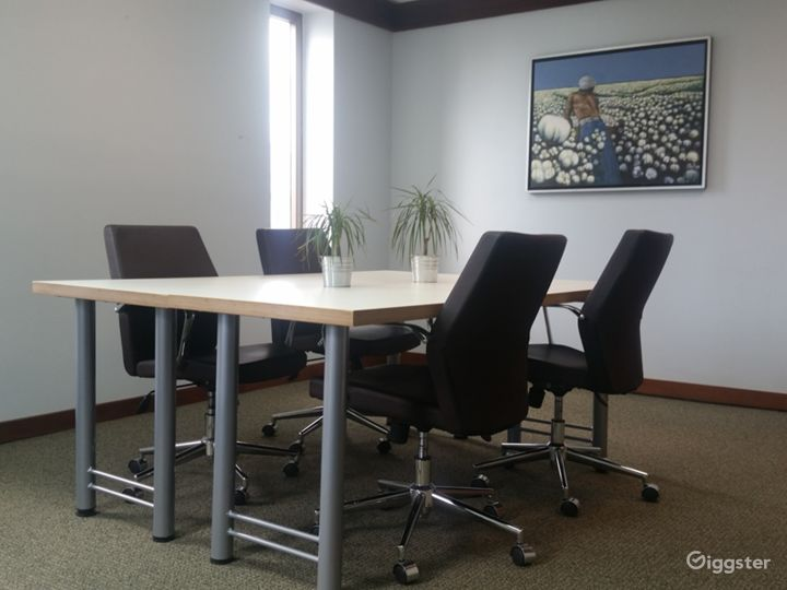 Contemporary Meeting Room in Miami Photo 4