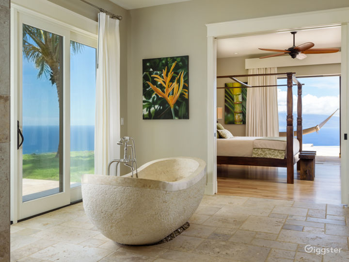 Master Bathroom with Ocean views from all angles