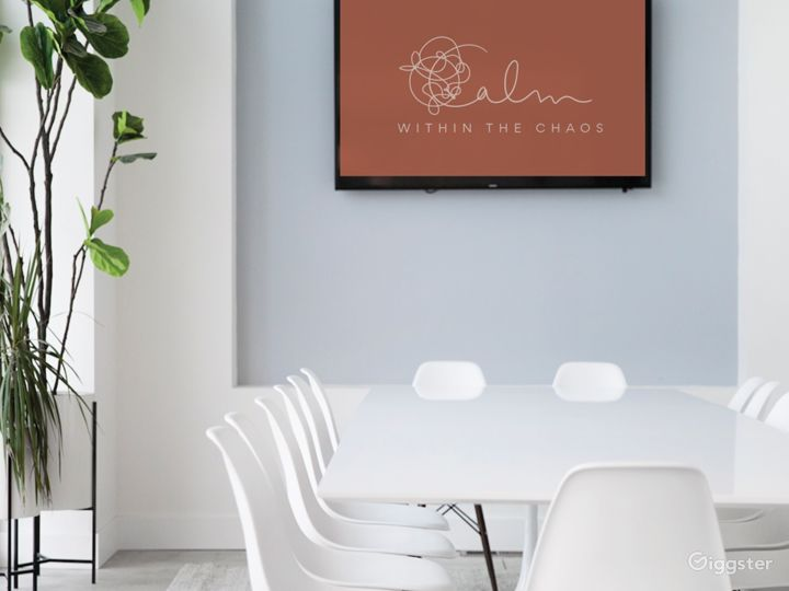 Bright Modern Meeting & Conference Room Photo 3