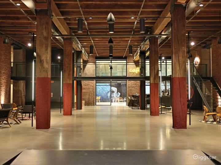 One of a Kind Modern Industrial Buildingin Philly